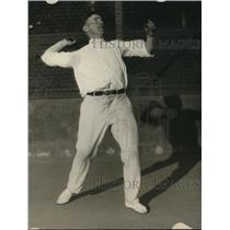 1925 Press Photo Elmer Griffin, San Francisco tennis player - net30208