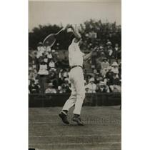 1921 Press Photo Portrait Of Harris William While Playing Tennis - net33350
