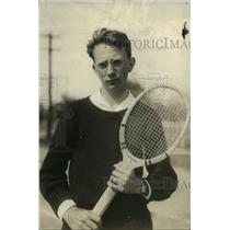 1923 Press Photo Tennis player Dave Haskell of Alliance team - net34537