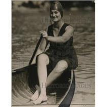 1919 Press Photo Miss Vera Kline, C.Y.C Swimmer - nef54561