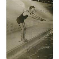 1915 Press Photo Jack Kennedy Monte Cristo Swimmer - nef54562
