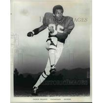 1979 Press Photo Jackie Wallace the best punt returner in conference.