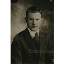 1920 Press Photo Fred Turbyville, NEA sports writer - net33557