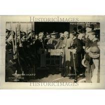1926 Press Photo Eucharistic Congress Cardinals Genoa - RRU22701