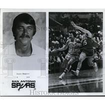 1977 Press Photo Louie Dampier, G,  6-0, San Antonio Spurs - orc10059