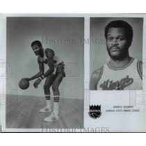 Press Photo Dennis Steward, Kansas City, Omaha Kings - orc10116