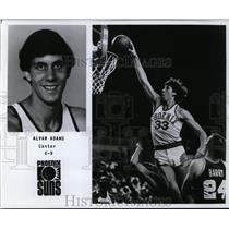 Press Photo Alvan Adams, Phoenix Suns  - orc09986