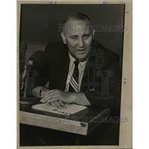 Press Photo Dick Vertlieb, president of NBA's Seattle Supersonics - orc06679