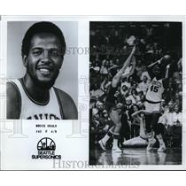 Press Photo Bruce Seals of the Seattle Supersonics - orc09141