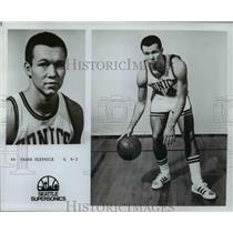 Press Photo Frank Olenick Guard 6-2 Seattle Supersonics - orc10259