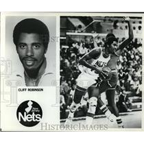 Press Photo Cliff Robinson, New Jersey Nets - orc09362