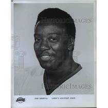 Press Photo John Barnhill, Laker's Assistant Coach, Los Angeles Lakers