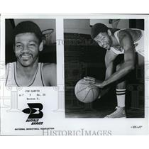 Press Photo Jim Garvin, Buffalo Braves - orc09367
