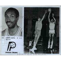 Press Photo Johnny Davis, G, 6'2, Dayton, Indiana Pacers - orc10149