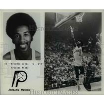 Press Photo #1 Freddie Lewis, G, 6'0, Arizona State, Indiana Pacers - orc10493