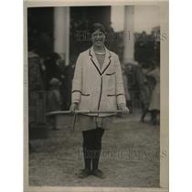 1922 Press Photo H.G. Armfield, British Hockey Coach - nef54689