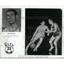 1971 Press Photo Golden State Warriors Jeff Mullins - orc00874