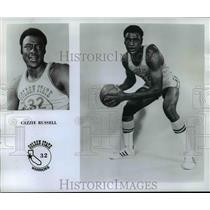 1971 Press Photo Cazzie Russell, Golden State Warriors - orc10140