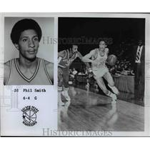 1976 Press Photo Phil Smith Guard 6-4 Golden State Warriors - orc10277