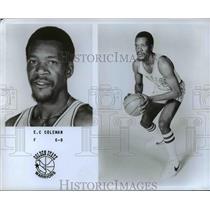 Press Photo E.C. Coleman, F, 6'8, Golden State Warriors - orc10469