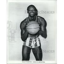 1971 Press Photo Dallas Thornton of the Harlem Globetrotters - orc09617