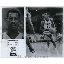 Press Photo Charles Scott, Denver Nuggets, North Carolina - orc10001