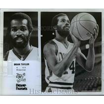 1979 Press Photo Brian Taylor of the Denver Nuggets - orc10292
