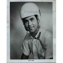 1966 Press Photo Daredevil driver, Rick Kona performs at Tournament of Thrills