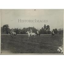 1923 Press Photo Two opposing teams in polo action on the field - net34065