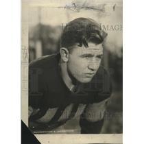 1924 Press Photo Ralph Baker, halfback, Northwestern University - net32769