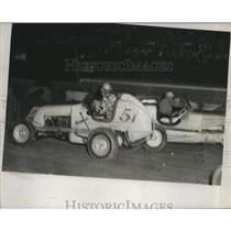 1947 Press Photo J. Russo And Colchine During The Race - net33015