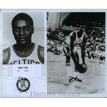 Press Photo Norm Cook, F, 6'9, Boston Celtics - orc10473