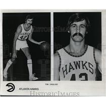 Press Photo Tom Ingelsby, Atlanta Hawks - orc10066