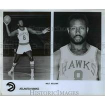 Press Photo Walt Bellamy, Atlanta Hawks - orc10144