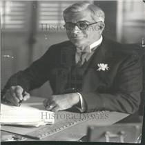1931 Press Photo President Cuba Machado economic tax - RRY24983
