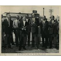 1960 Press Photo New Orleans, Negro meeting at 6th Police Sunday