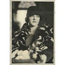 1926 Press Photo Wilda Bennet musical comedy star to wed Pepe De Albro