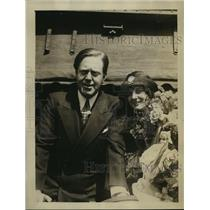 1926 Press Photo actress Gertrude Olmstead weds director Robert Leonard