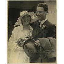 1924 Press Photo Actress Ruth Clifford weds James A Cornelius in Los Angeles