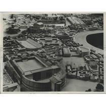 1937 Press Photo Rome, Italy City Model under Augustus - ftx02120