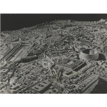 1934 Press Photo Model City of Rome, Italy by Paul Bigot - ftx02129
