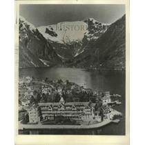 1983 Press Photo Fjord Country, Norway Balestrand Resort - ftx02264