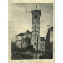 1922 Press Photo Alba Jula Cathedral, Romania - ftx02769