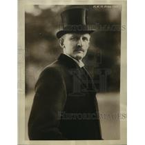 1925 Press Photo Prince Karl of Sweden in London as guest of King & Queen