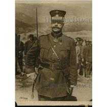 1918 Press Photo General Joanno commander of the Greek Army - sbx00457