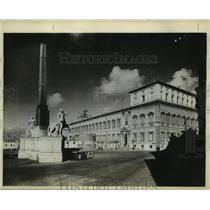 Press Photo The Quirinal palace home of Italian royal family - sbx00703