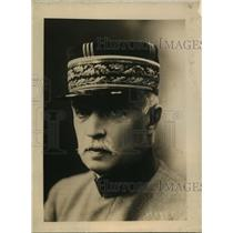 1918 Press Photo General Fayolle of French Army at Western front - sbx00818