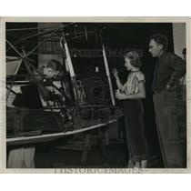 1948 Press Photo Auburn Elementary Aeronautics Class at Auburn University