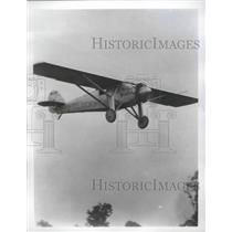 1977 Press Photo Charles Lindbergh Plane The Spirit of St Louis - ftx02454