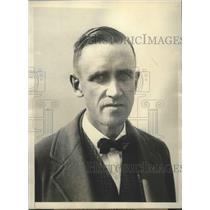 1929 Press Photo Ward T Van Orman of US at International Goon Bennett race